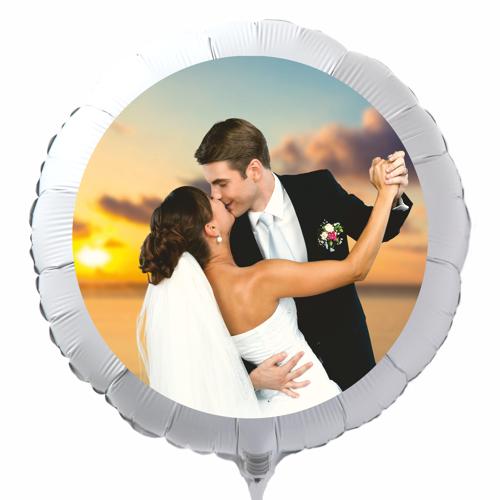 fotoballons mit eigenem foto zur hochzeit luftballons. Black Bedroom Furniture Sets. Home Design Ideas